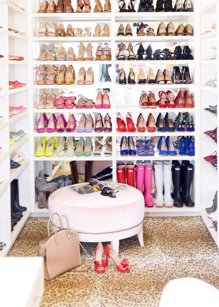 Don't let clutter get you down. Stay organized with this easy shoe storage solution. Line up each pair based on their style and color. You'll easily be able to view and pick out your favorite pair when getting ready for a fun night out with your friends.