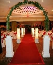 Civil Ceremony Aisle in the Hilton Sutton Coldfield.