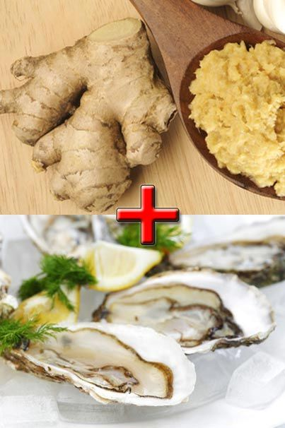 Ginger and oysters are a delicious pair!
