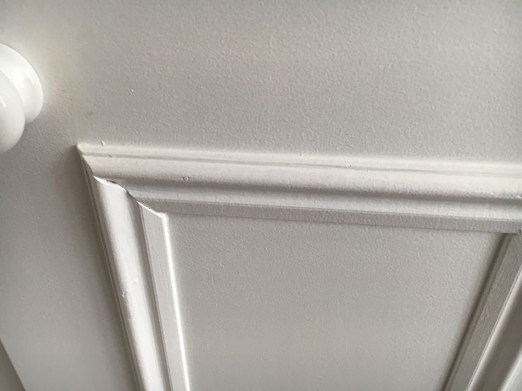 Plant on mouldings on MDF