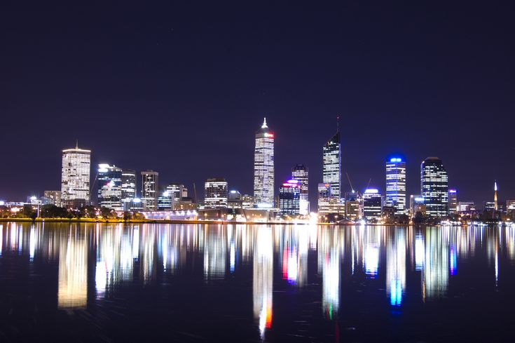 Perth Skyline at night