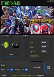 Marvel contest of champions hack tool unlimited gold