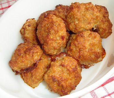 Reformnasik: Fasírt sütőben sütve (kenyér nélkül, zabpehellyel kompromisszumos paleo)