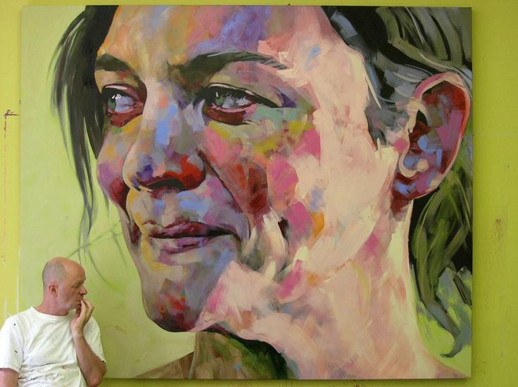 """Saatchi Online Artist: Hanjo Schmidt; Acrylic, Painting """"Inbetween"""""""