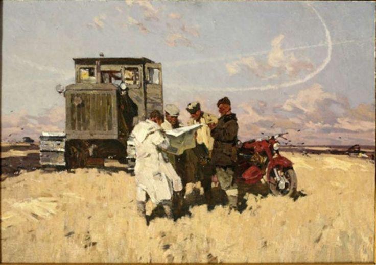 "Ратников А.М.""Будни целины"",  1962"
