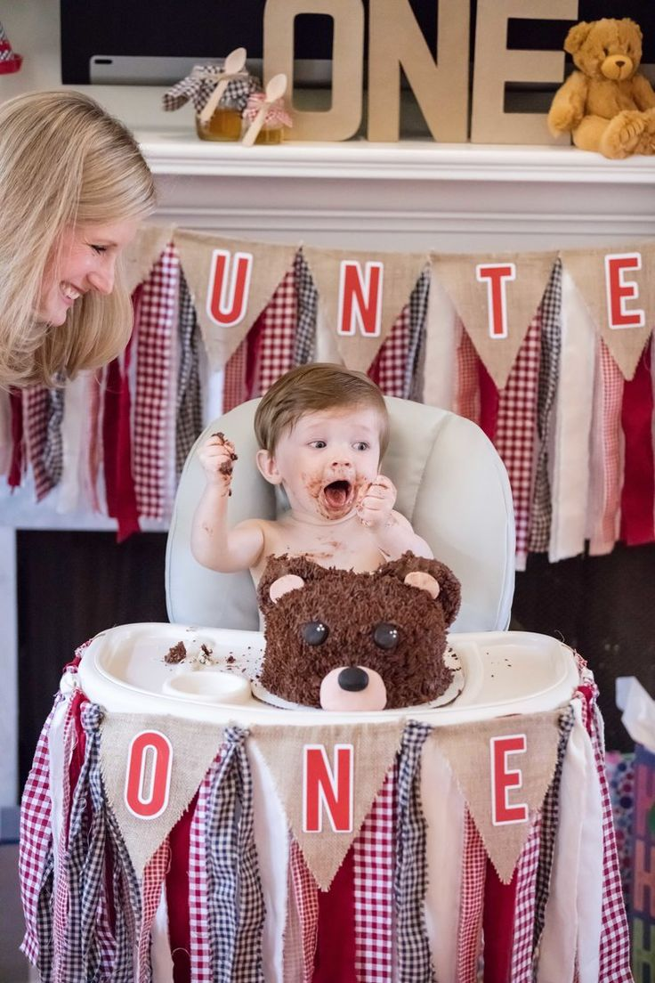 A Teddy Bear Picnic themed first birthday party!