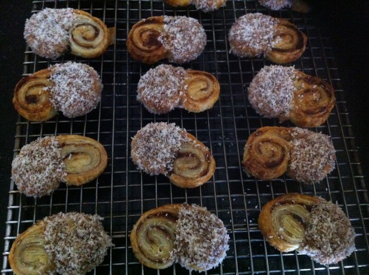 Nutella Puff Pastry Scroll Cookies!