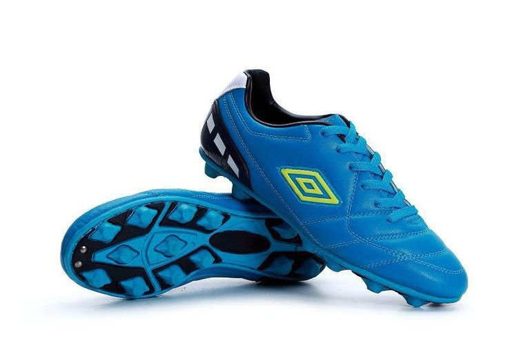 Umbro Cup AG Football Boots Dodger Blue Green Black