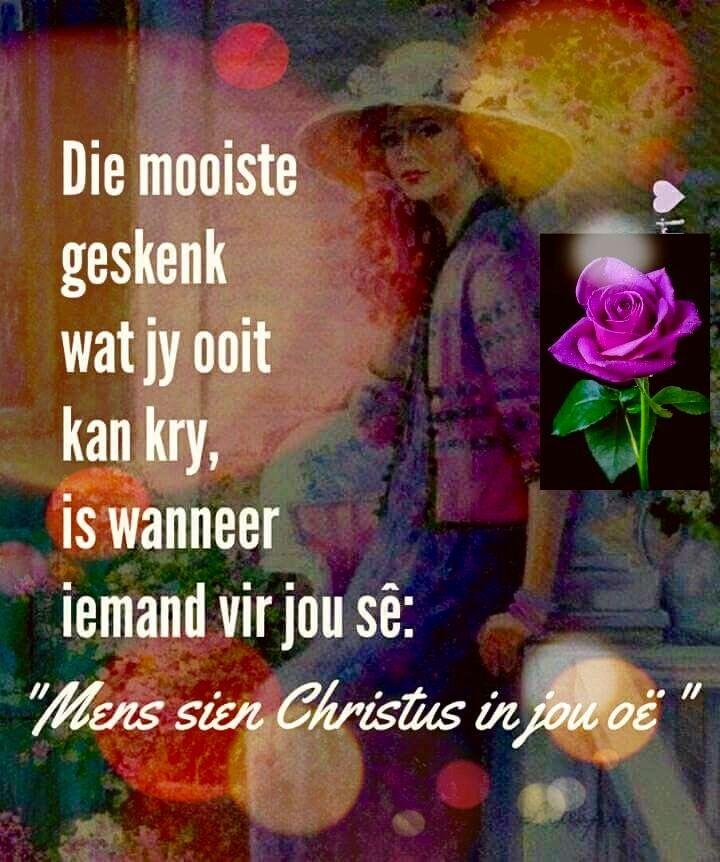 Die mooiste geskenk... #Afrikaans #iBelieve #2bMe #Jesuskind