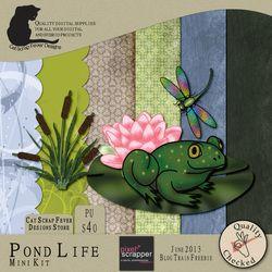 Pond Life blog train freebie