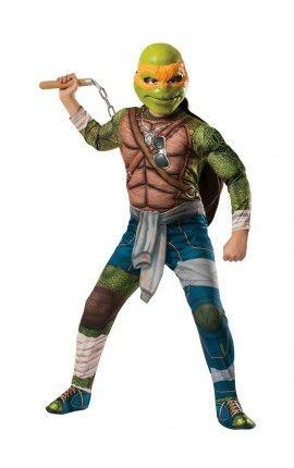 disfraz de michelangelo musculoso tortugas ninja movie para nio