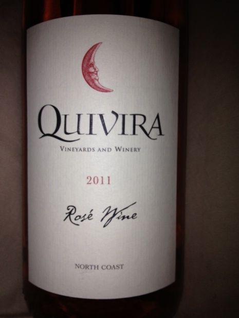 2011 Quivira Rose North Coast