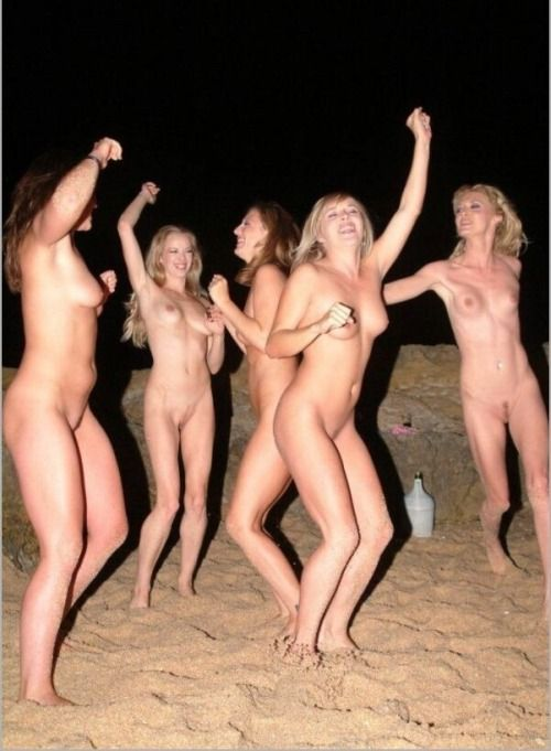 Girls only naked party authoritative answer