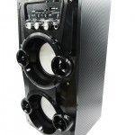 Altavoz Portátil Karaoke Con Radio FM y Batería Recargable modelo 9956 - Altavoz Portátil Karaoke Con Radio FM y Batería Recargable Podrás disfrutar de todas las emisoras de la Radio FM para que no te pierdas tus programas favoritos. El Altavozes compatible con tarjetas SDy memorias USB, reproduce tu música o la de tus amigos insertando la Memoria USB o SD al Altav... - http://buscacomercio.es/producto/altavoz-portatil-karaoke-con-radio-fm-y-bateria-recargable-model