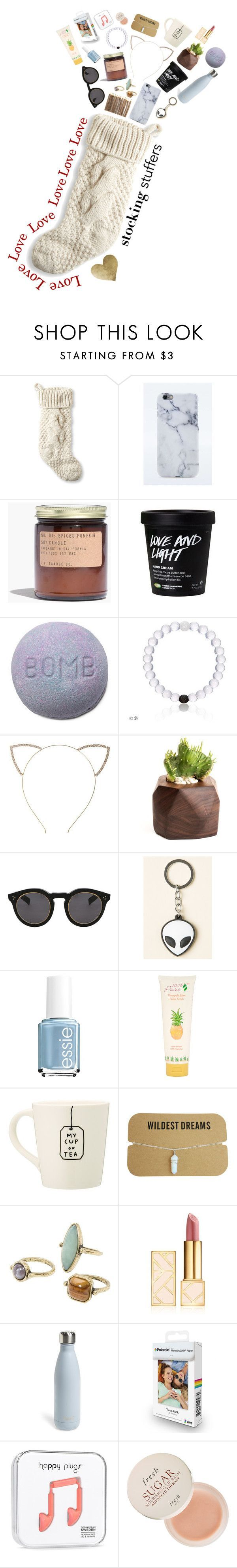 """Stocking Stuffers for Teens"" by onewithbirds ❤ liked on Polyvore featuring beauty, L.L.Bean, Madewell, Cara, Illesteva, Essie, 100% Pure, MANGO, Tory Burch and S'well #teenbirthdaygifts"