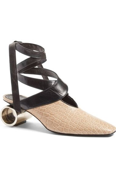 J.W.ANDERSON Cylinder Heel Ballet Pump (Women) available at #Nordstrom