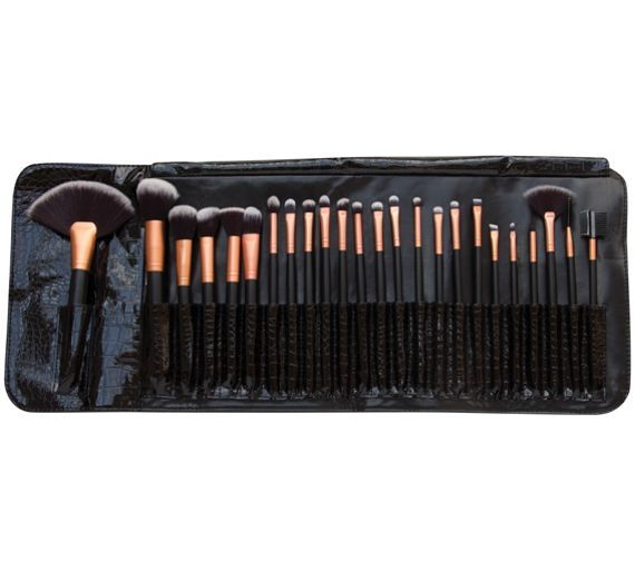 Buy Rio Professional 24 Piece Cosmetic Makeup Brush Set at Argos.co.uk, visit Argos.co.uk to shop online for Make up brushes and tools, Make up, skincare and nails, Health and beauty