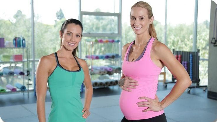 One on One Second Trimester Maternity Workout with Autumn Calabrese   fitya