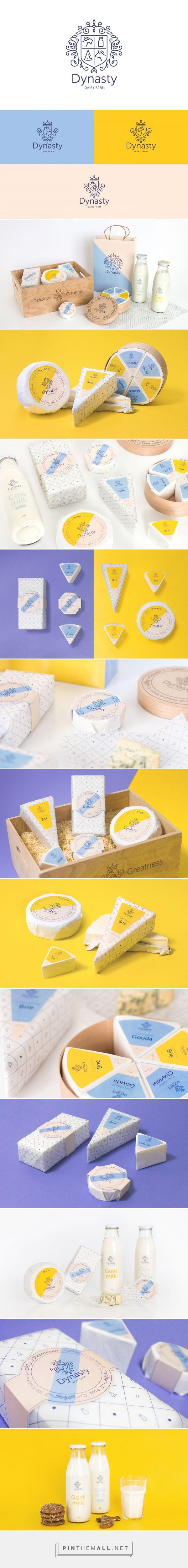 Dynasty Dairy Farm Branding
