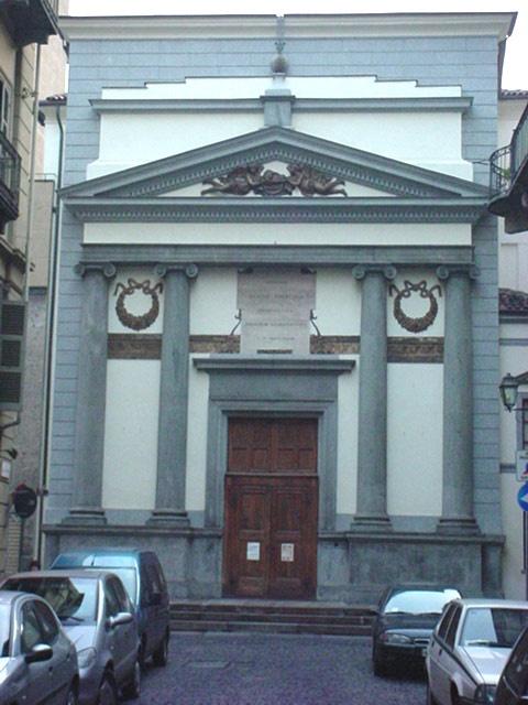 Chiesa della Misericordia, via Barbaroux 41