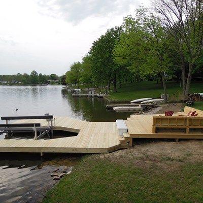 48 best Lake docks images on Pinterest   Lake dock, Boat dock and ...