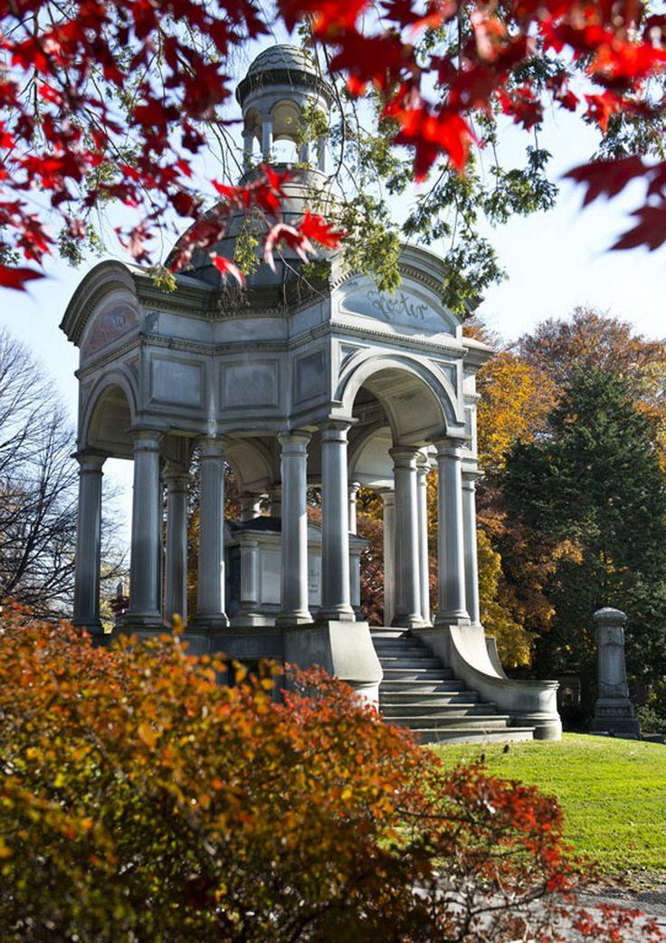 Woodlawn Cemetery du Bronx Un des plus beaux cimetière