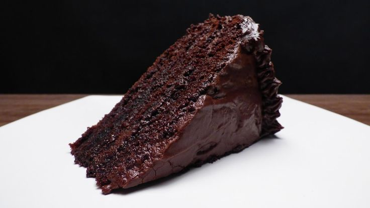 Foodcast Moist Chocolate Cake