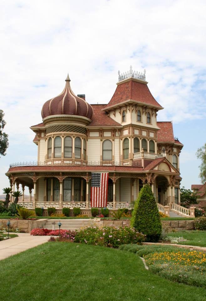 Morey Mansion Redlands Ca Used To Be A B B Mansions Victorian Homes Redlands