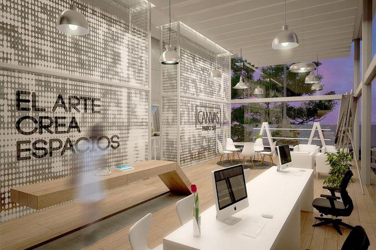 Interior sala de ventas CANVAS