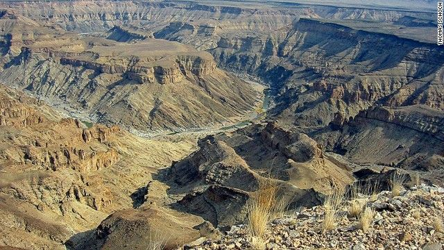 Six million people visit the Grand Canyon in Arizona every year. By comparison, the Fish River Canyon draws a modest 60,000 visitors annually. http://cnn.it/1CuL7c4