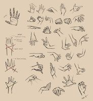 Browsing deviantART Resources for Art Students at CAPI ::: Create Art Portfolio Ideas at milliande.com , How to Draw Hands