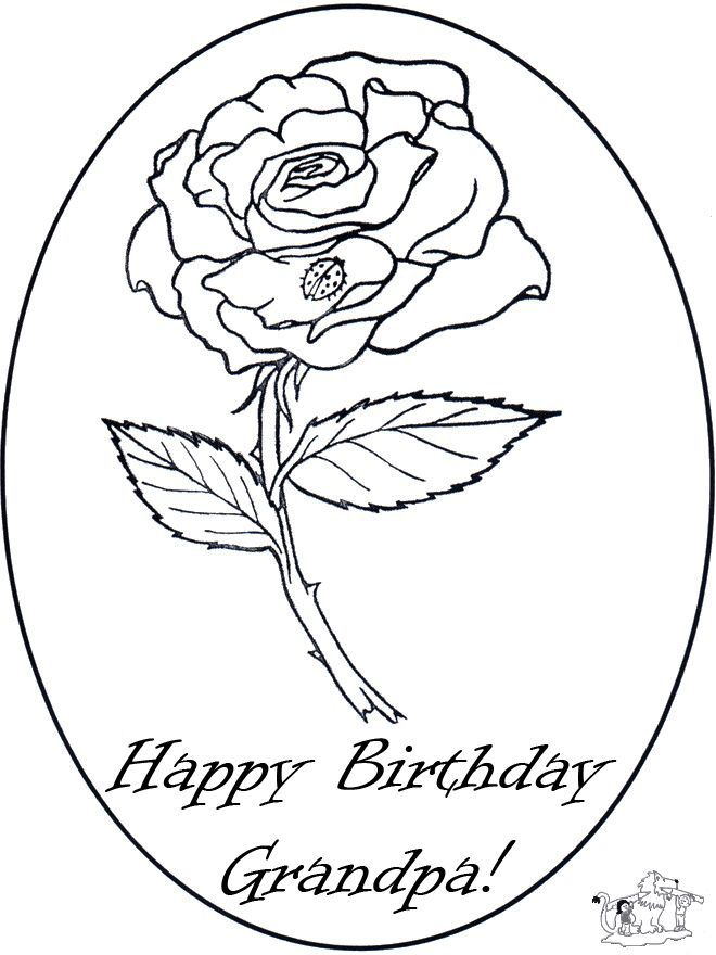 Открытки с днем рождения бабушка от внучки раскраска, днем рождения