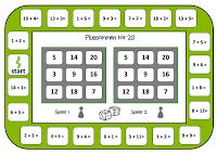 Bingo voor 2.Spelbord erbijsommen tot 20