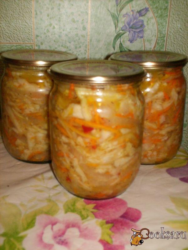 Консервирование салатов из капусты рецепты