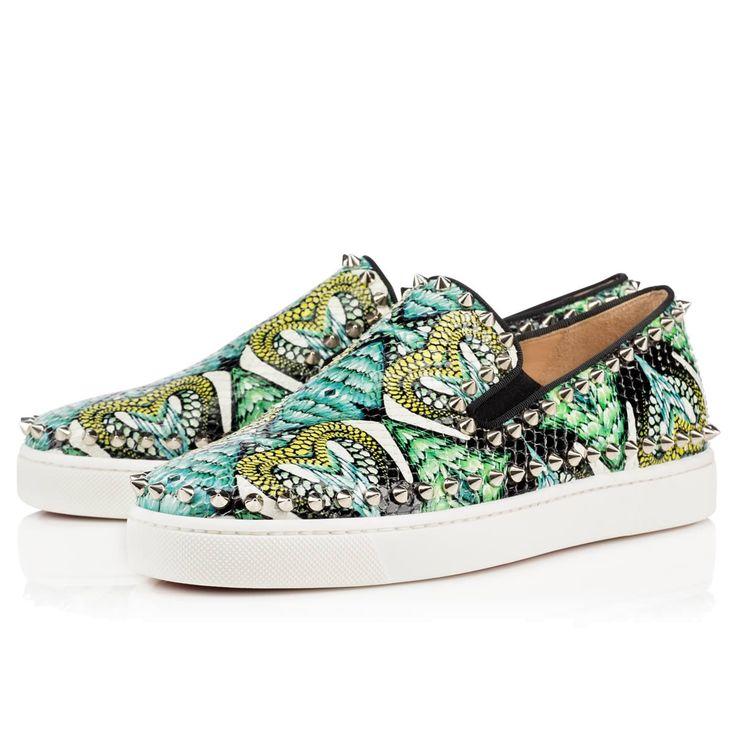 fake louis vuitton mens shoes - Christian Louboutin HK Pik Boat Women\u0026#39;s Flat | BuyDesire | Shoes ...