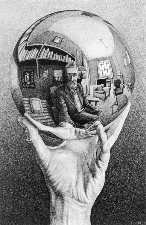 http://jimlovesart.tumblr.com/post/162438000480/jimlovesart-mc-escher-hand-sphere-1935