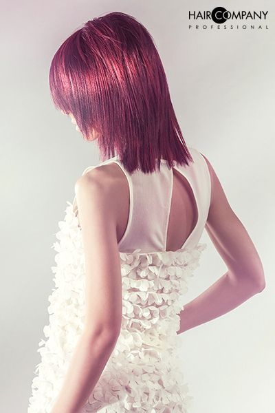 Hair Company Professional Collection // Photo: Cristian Bolis // Hair: Francesco Gremoli // Stylist: Fabio Caserta // Mua: Cristina Gandellini // Model: Manuela Giunta
