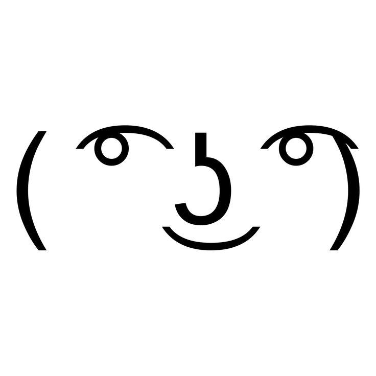 Funny Meme Text Emoticons : Best ideas about lenny meme on pinterest overwatch