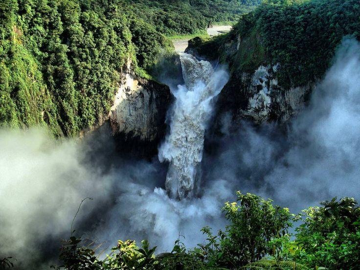 Cascada de San Rafael.