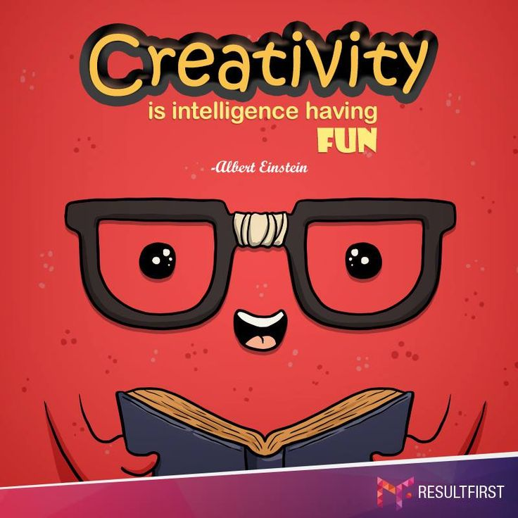 Creativity is intelligence having FUN. #AlbertEinstein #CreativeIntelligence #ResultFirst #WebDesign #WebDesignServices