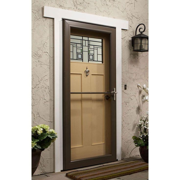 23 best images about front door ideas on pinterest for Front door with storm door