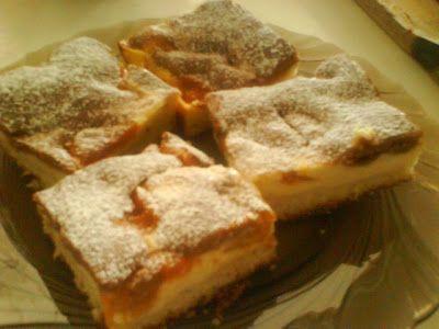 motýlia :) vareška: Tvarohový koláčik s marhuľami