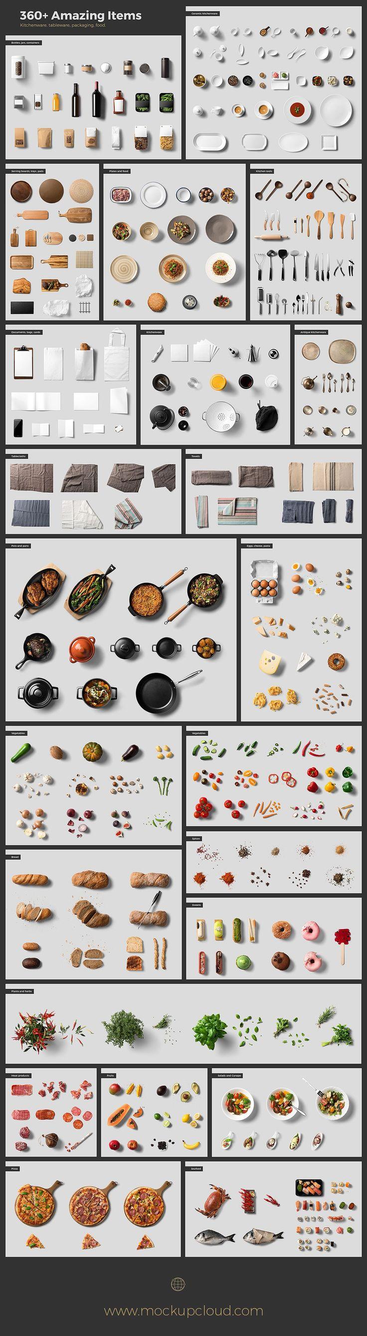 Kitchen Ready Mockup Creator by Mockup Cloud on @creativemarket