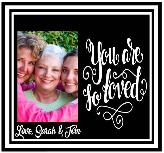 Mom picture frame - mom frame - personalized picture frames for mom - mom photo frame - i love you mom picture frame -  mothers day frame by TouchesofCreations on Etsy