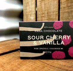 chocolate sour cherry and vanilla