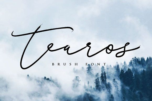 Tearos Typeface by Face Lab Inc. on @creativemarket