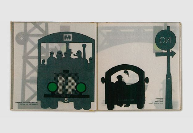 The Circus in The Mist / Nella Nebbia di Milano — Written and designed by Bruno Munari. Corraini Edizioni, 1968