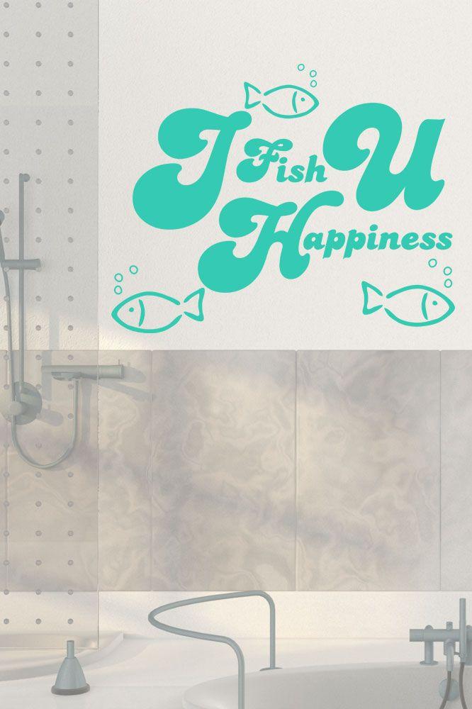 20+ beste ideeën over Wandtattoo Bad op Pinterest - wandtattoos für badezimmer