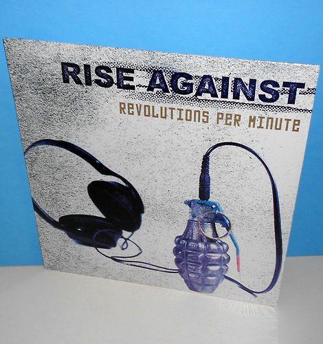 Rise Against revolutions per minute Lp SEALED vinyl