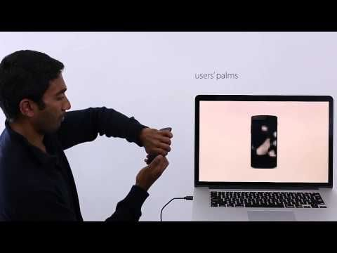 Bodyprint: Biometric Authentication on Smartphones using the Touchscreen as a Scanner - YouTube